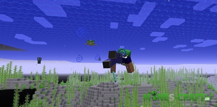 Fish in Minecraft PE 1.3
