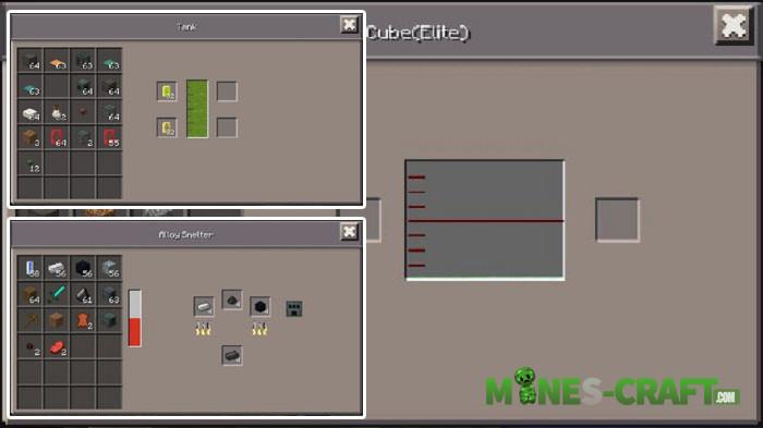 Mekanism PE Mod Minecraft Bedrock