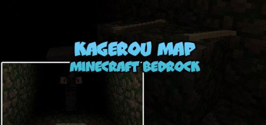 Kagerou Map Minecraft Bedrock