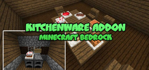Kitchenware Addon Minecraft PE