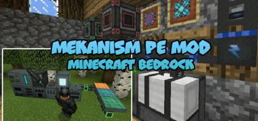 Mekanism PE Mod Minecraft PE