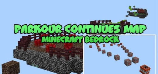 Parkour Continues Map MCPE