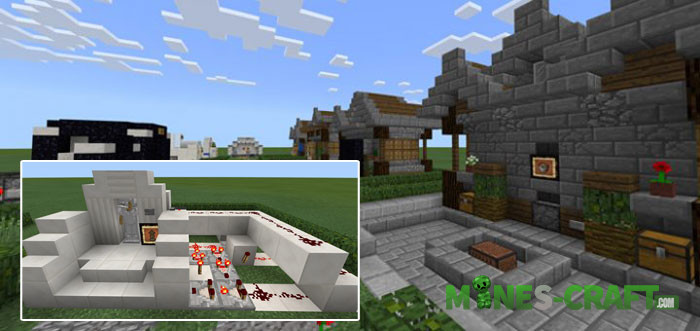 Redstone Mechanism Examples Minecraft PE