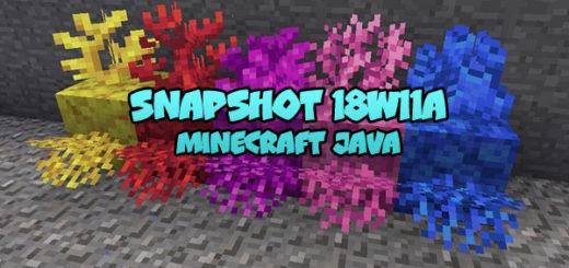 Download Minecraft 1.13 – Snapshot 18W11A
