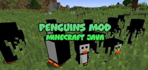 Penguins Mod Minecraft