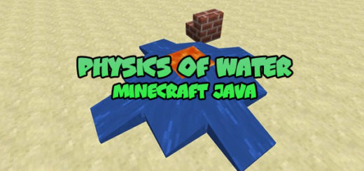 Physics of Water in Minecraft