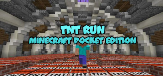 TNT Run By SkyGames Map [MCBE]