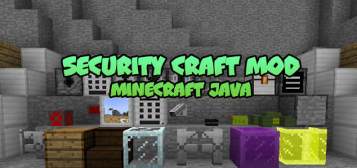 Security Craft Mod for Minecraft