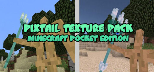 Pixtail Resource Pack for Minecraft BE