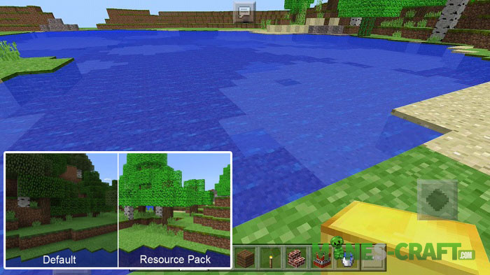 Nostalgia-Craft Resource Pack for MCBE