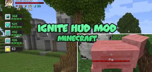 Ignite HUD Mod Minecraft