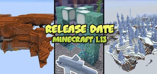 Minecraft 1.13 - Release Date