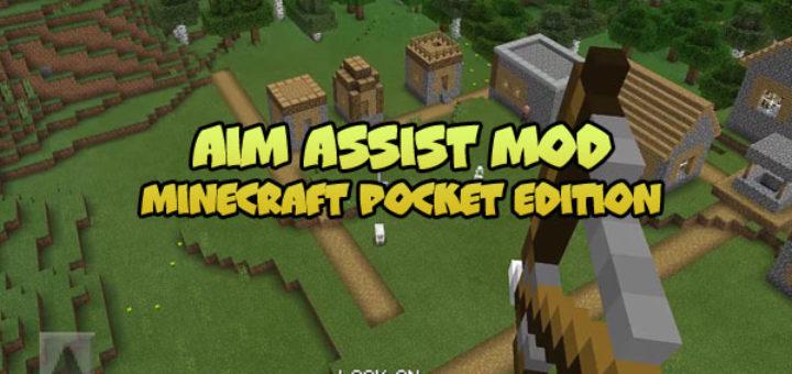 Aim Assist Mod for MCPE