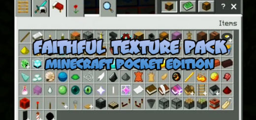 Faithful Texture Pack for MCBE