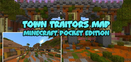 Town Traitors by SkyGames Map [MCBE]