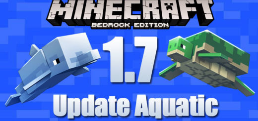 Minecraft PE 1.7 Apk/Ipa/Win