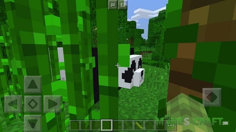 Pandas Addon for MCPE