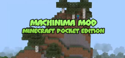 Machinima Mod for Minecraft PE 1.6