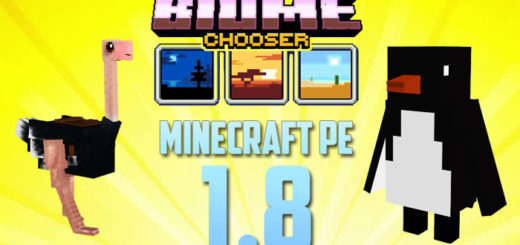 Minecraft PE 1.8 - Biome Update