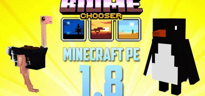 Minecraft PE 1.8 - Biome Update
