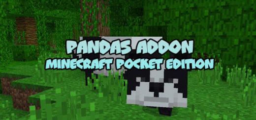 Pandas Addon for MCPE 1.7