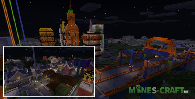 Antoine City for MCPE 1.7