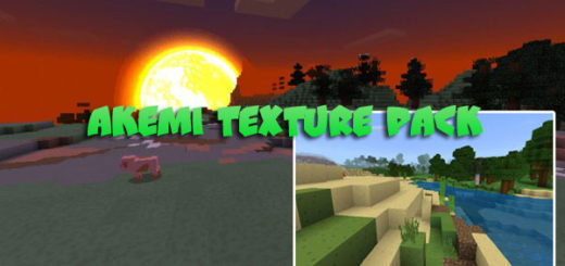 Akemi Texture Pack for MCBE