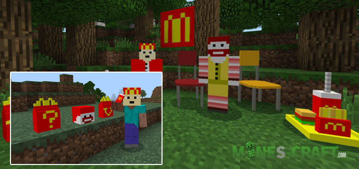 McDonald's Add-on for MCPE 1.9+