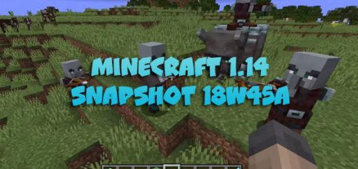 Download Minecraft 1.14 – Snapshot 18W45A
