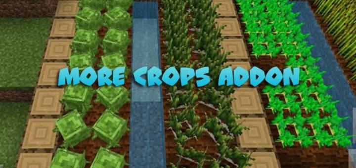 More Crops Addon MCPE 1.9