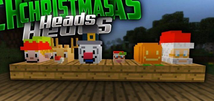New Christmas Heads for MCBE 1.9
