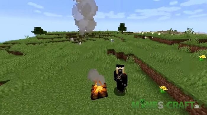 Campfire in Minecraft 1.14