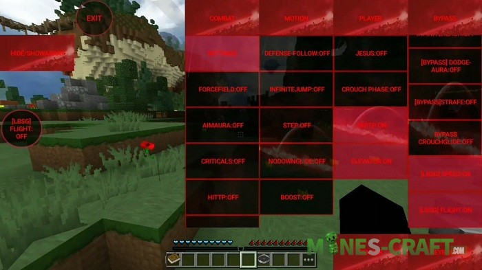 Vader Hack for Minecraft PE