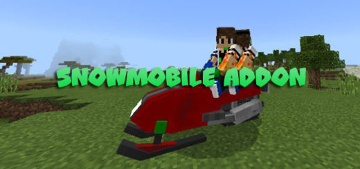 Snowmobile Addon for MCPE