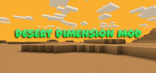 Desert Dimension Mod for Minecraft 1.12.2