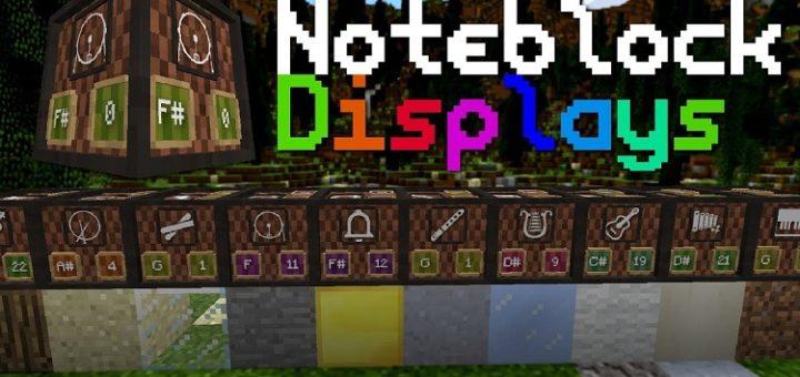 Note-Block Displays Resources [1.13.2]