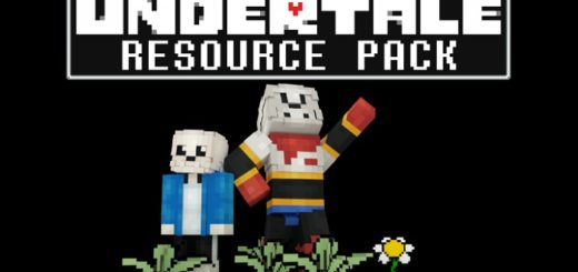 Undertale Resource Pack for Minecraft