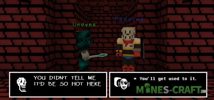 Undertale Resource Pack for Minecraft