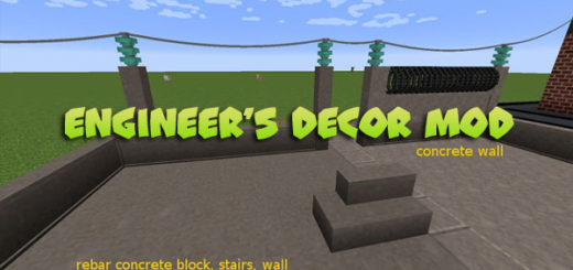 Engineer's Decor Mod [1.12.2/1.13.2]