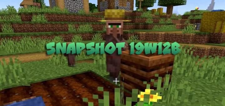 Download Minecraft 1.14 Snapshot 19W12B