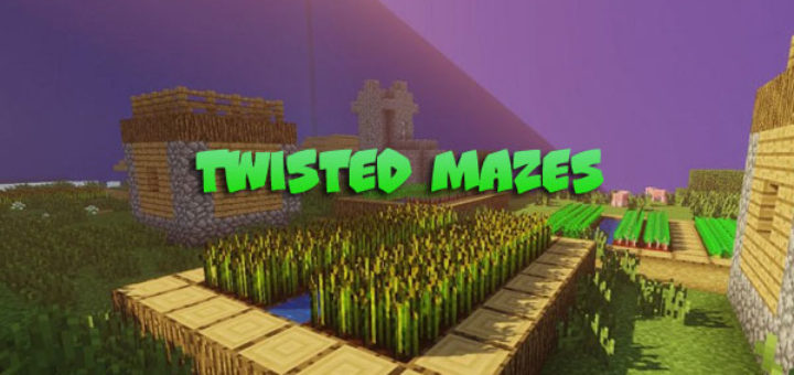 Twisted Mazes Map [1.13.2/1.14]