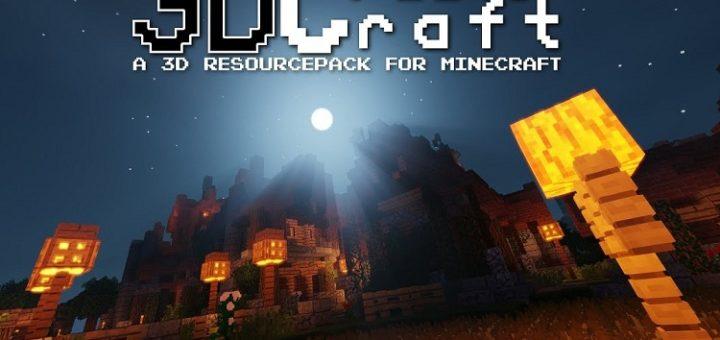 3D CreatorCraft Resource Pack 1.13.2/1.14.2