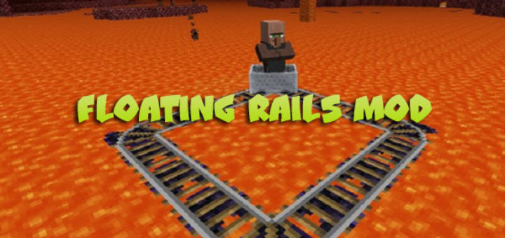 Floating Rails Mod for Minecraft 1.12.2