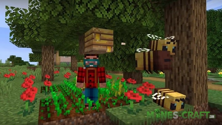 Minecraft 1.15 Bees