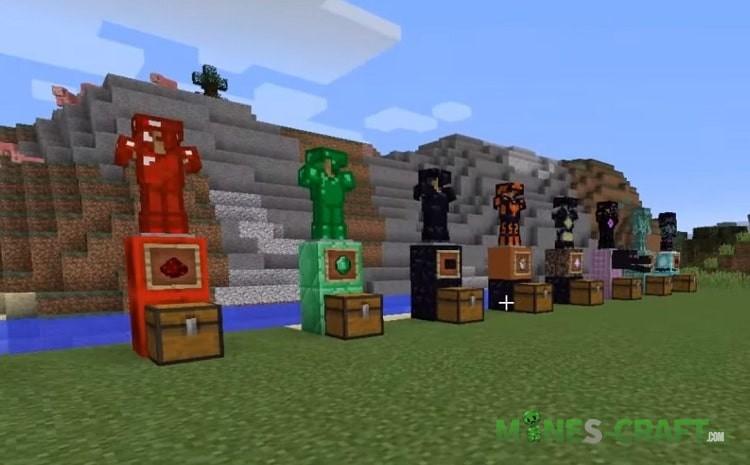 Minecraft 1.15 Armor