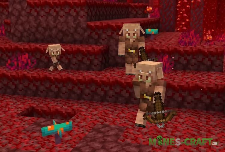 Minecraft 1.16 Piglins